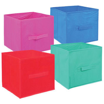 Bulk Essentials Trendy Collapsible Storage Containers with Handles at DollarTree.com