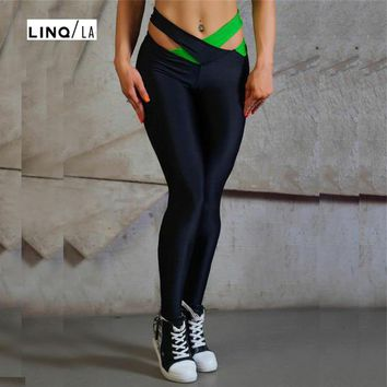 Cross Waist Quick-drying Yoga Leggings