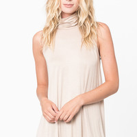 turtleneck tunic tank