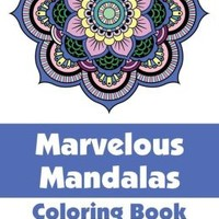 Marvelous Mandalas Coloring Book, Volume 1