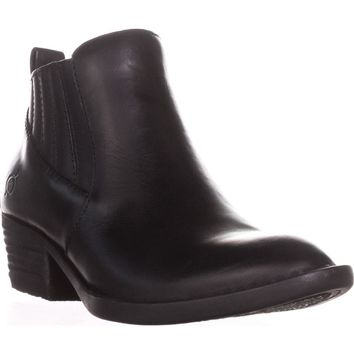 Born Beebe Casual Ankle Boots, Black, 6 US / 36.5 EU