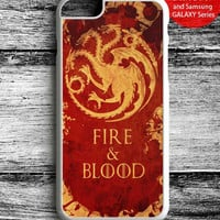 Fire and Blood Targaryen Game of Thrones