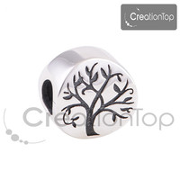925 Silver Charm for any Pandora bracelet Tree of life