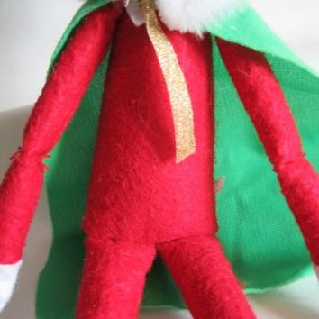 elf props SUPERHERO CAPE OUTFIT COSTUME on the shelf accessories christmas | eBay