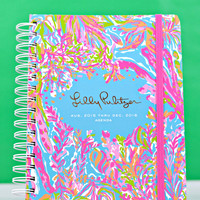 LILLY PULITZER: Large Agenda - Scuba to Cuba