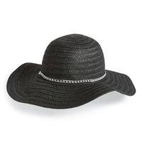 Junior Women's David & Young Floppy Straw Hat
