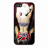 Miley cyrus Chicago Bulls 23 NBA For IPHONE 5S Case *02*
