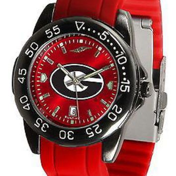 Georgia Bulldogs Fantom Sport Watch