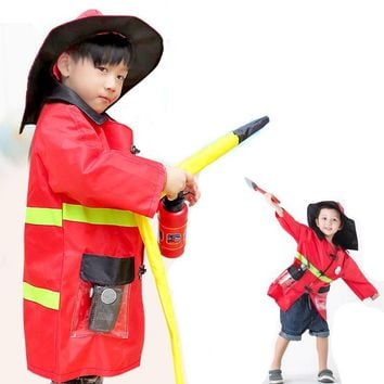 costumes for kids 1Set Sam Firefighter Fireman Costumes boys girls uniforms