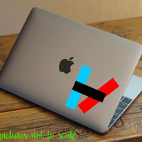 FREE SHIPPING! - twenty one pilots decal | TØP  - Multiple sizes available!