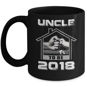 IKCKIJ3 Uncle To Be 2018 New Baby Mug