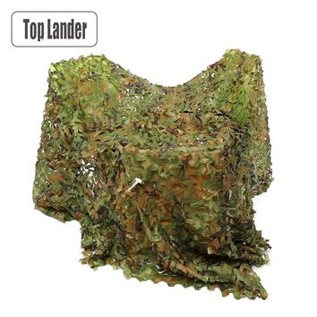 Camouflage Net Camo Netting Army Military Decoration Nets Desert Shade Mesh Hunting Garden Outdoor Camping Sun Shelter Tarp Tent