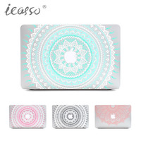 iCasso Mandala Vinyl Art Skin Decal Sticker Cover For Apple Macbook 13 15 inch macbook skin sticker Model Laptop case cover
