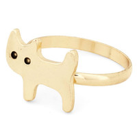 ModCloth Cats How Mew You Do? Ring