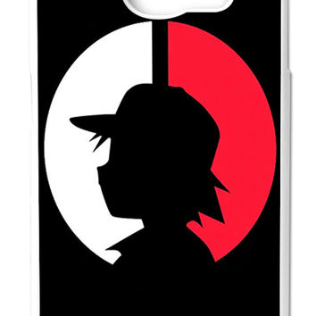 Pokemon Ash Ketchum Samsung Galaxy S6 Cases - Hard Plastic, Rubber Case