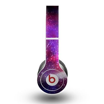 The Vivid Pink Galaxy Lights Skin for the Beats by Dre Original Solo-Solo HD Headphones