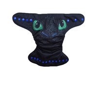 Toothless How To Train Your Dragon AIO AI2 Cloth Diaper