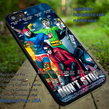 5 Seconds of Summer Don't Stop Superhero Version iPhone 6s 6 6s+ 5c 5s Cases Samsung Galaxy s5 s6 Edge+ NOTE 5 4 3 #music #5sos dt