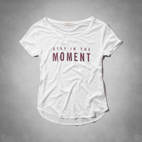 Stay in the Moment Tee