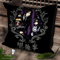 New Kuroshitsuji Anime Dakimakura Square Pillow Cover SPC41