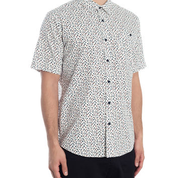 Runts Short Sleeve Shirt - White
