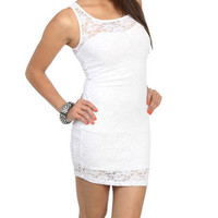 Sweetheart Lace Bodycon Dress | Shop Dresses at Wet Seal