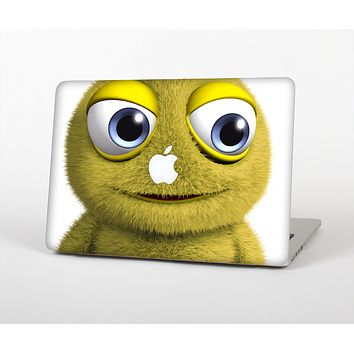 The Yellow Fuzzy Wuzzy Creature Skin for the Apple MacBook Pro 13""