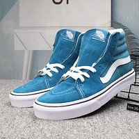 VANS SK8-HI Woman Men Fashion High-Top Flats Shoes