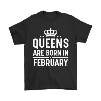 ESBCV3 Queens Are Born In February Shirts