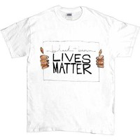 Black & Brown Lives Matter -- Unisex T-Shirt