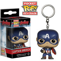 POCKET POP! KEYCHAIN: AVENGERS: AGE OF ULTRON - CAPTAIN AMERICA