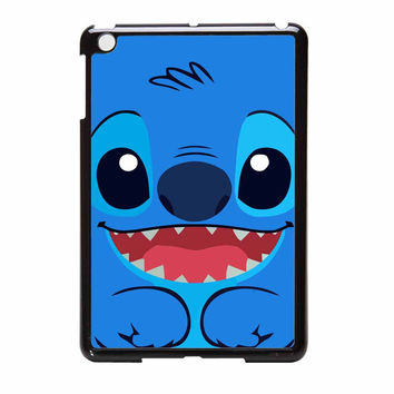 Stitch Smile Blue iPad Mini Case