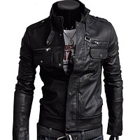 Classic Style Motorcycling Leather Jackets