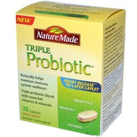 Nature Made Triple Probiotic, 30-Count