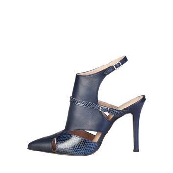 Pierre Cardin LAETITIA Black/Blue Sandal