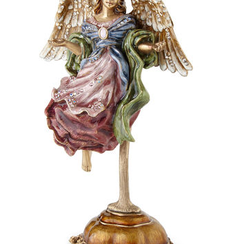 Flying Angel Figurine with Stand - Jay Strongwater