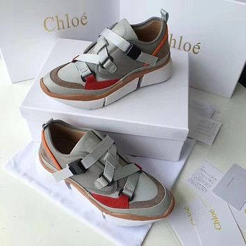 Chloe High shoe high and low running shoes-1