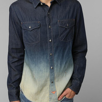 Urban Outfitters - Koto Dip-Dye Denim Button-Down Shirt