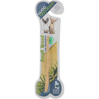 Woobamboo Pet Toothbrush - Cat And Small Breed Dog - Soft - Blue And Green - 1 Count - Case Of 12