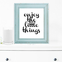 Inspirational Print, Wall Decor, Typography Wall Art, Motivational Print, Inspirational Poster, Teen Gift Ideas, Shabby Chic - PT0069