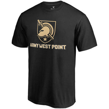 Men's Fanatics Branded Black Army Black Knights Team Lockup T-Shirt