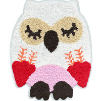 ON SALE 15% OFF Xl Extra Large 22cm Chenille Owl Patch Applique