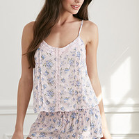 Clustered Rose PJ Set