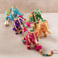 Hanging Elephant Ornament