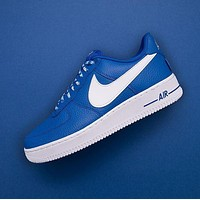 NBA x Nike Air Force 1 AF1 NBA White Blue823511-103