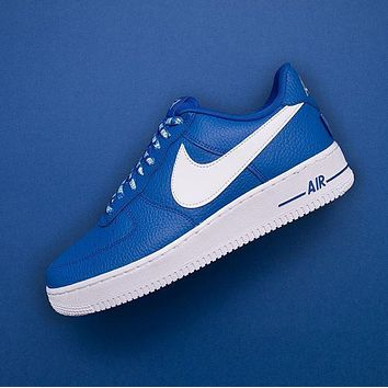 nba x nike air force 1 af1 nba white blue 823511 103