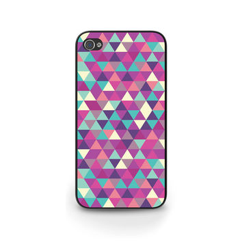 Geometric phone case, iPhone 5 case, iPhone 5S 5C 6, Graphic Triangles phone case, Also for Samsung S4 S5, Personalized phone cover G015