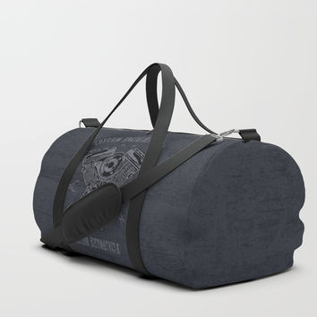 Custom Motorcycle Duffle Bag by HYPNOTZD MUSIC