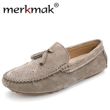 Men Casual Suede Loafers Genuine 1