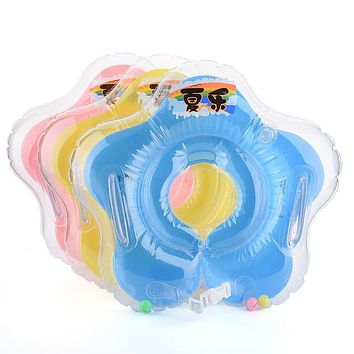Swimming Pool & Accessories baby Gear swimming swim neck ring baby Tube Ring Safety infantfloat circle bathing Inflatable Drop